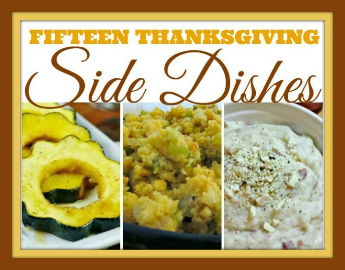 15 Thanksgiving Side Dishes