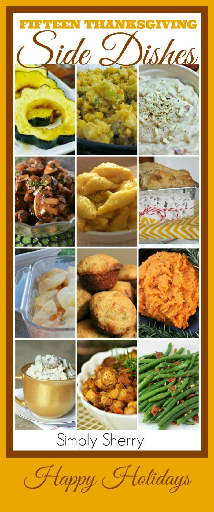 Fifteen Thanksgiving Side Dishes