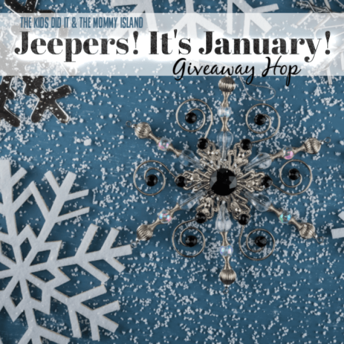 Jeepers Its January 2019 Giveaway