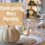 Thanksgiving Menu Planning