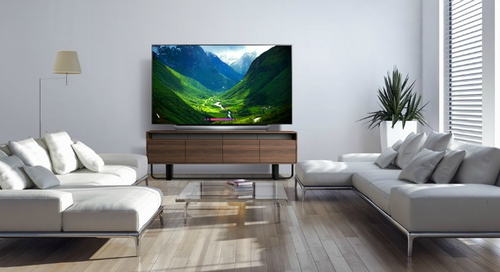 Movie Theater Experience with 77-inch LG OLED Television