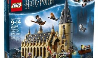 Lego Harry Potter Hogwarts Great Hall Building Kit