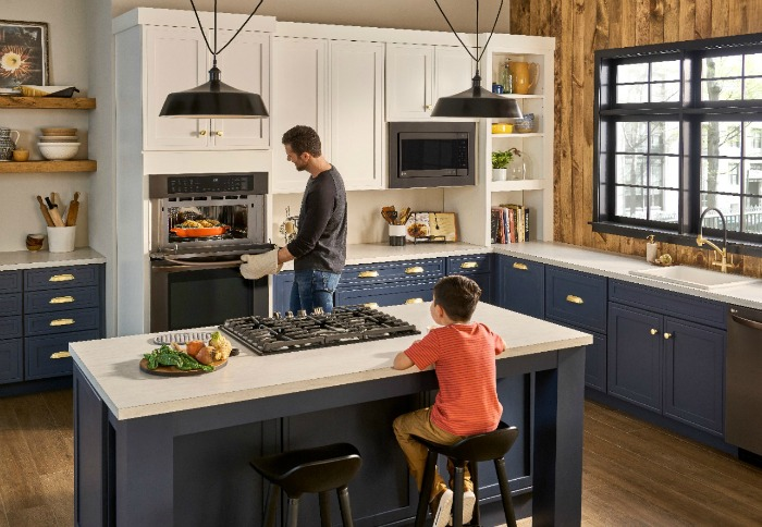 Upgrade Your Kitchen and Cooking with LG Combination Double Wall Oven from #BestBuy