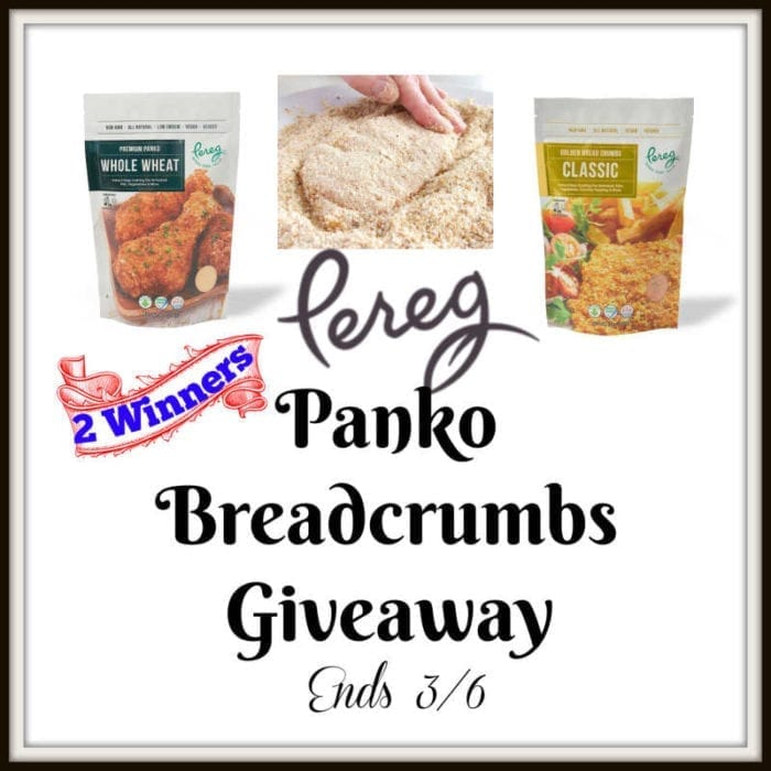 Pereg Panko Breadcrumbs Giveaway