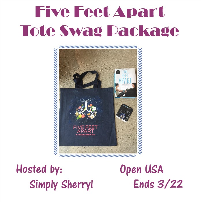 Five Feet Apart Swag package