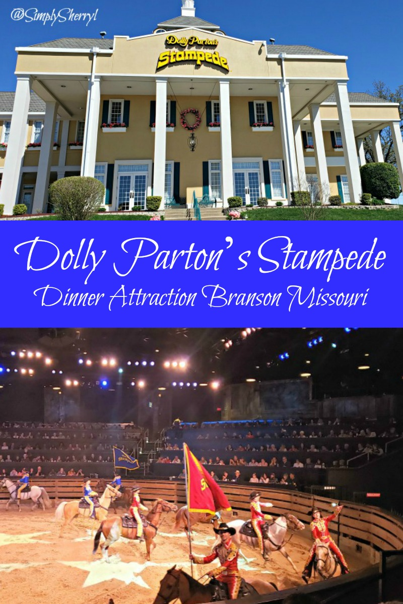 Dolly Parton's Stampede Dinner Attraction in Branson Missouri needs to be on your can't miss list.