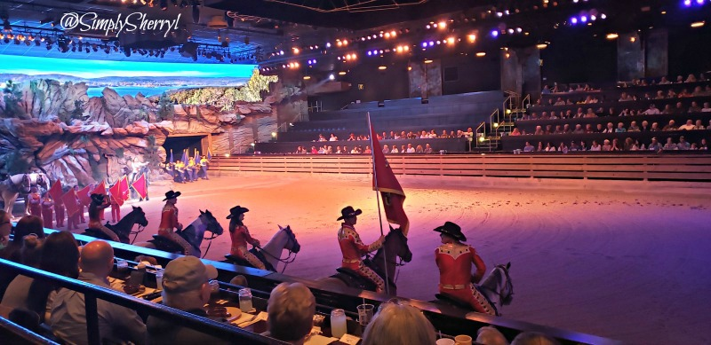 Dolly Parton's Stampede Dinner Attraction in Branson Missouri