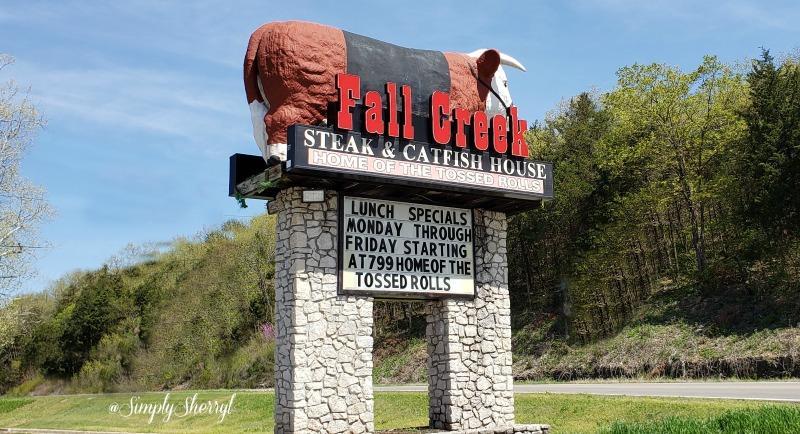 Fall Creek Steak & Catfish House Branson Missouri