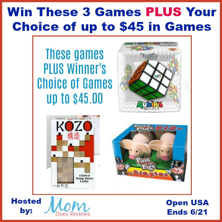 Family Game Stash AND Winner's Choice from Winning Moves Games