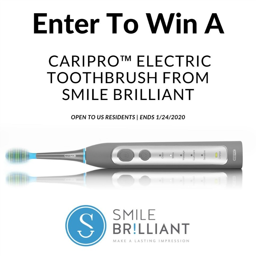 Win a Smile Brilliant Toothbrush