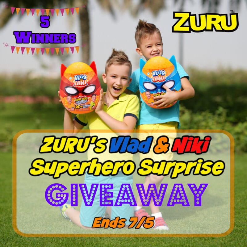 ZURU's Vlad & Niki Superhero Surprise Giveaway