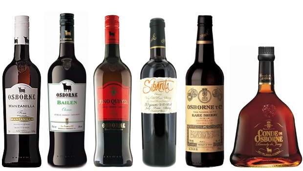 Image result for photos of spanish sherry wines