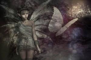 fantasy elf book background
