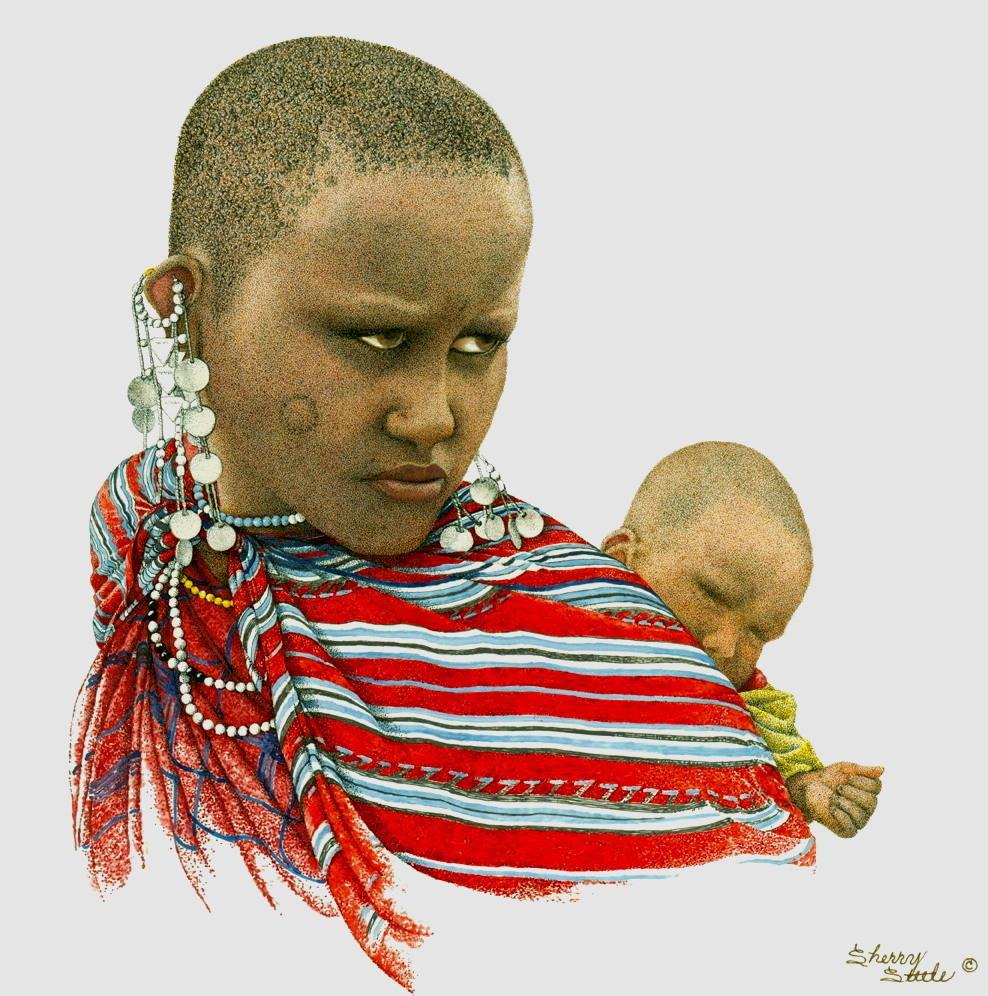 Heart of a Lioness | Maasai Woman