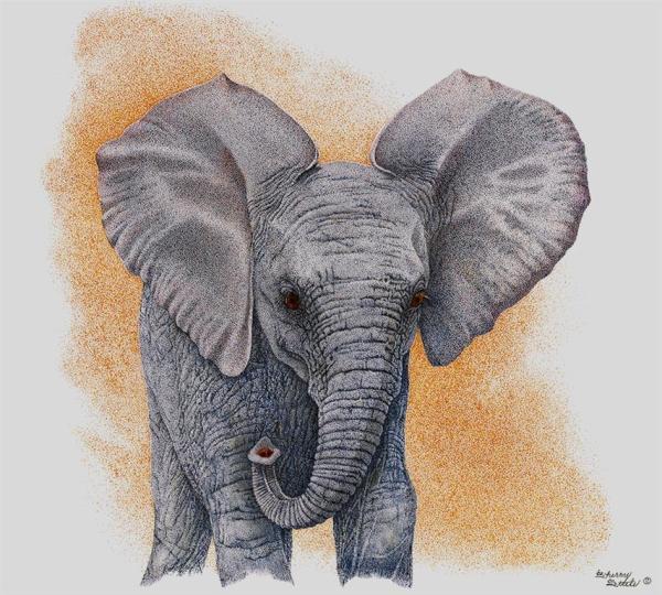 Sherry Steele Artwork - Promises | Elephant