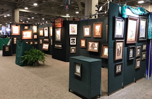Sherry Steele Artwork - Booth