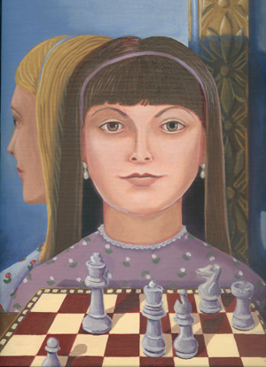 The Chess Set (Portrait of Alice Liddell), © 2003