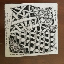 my first tangle