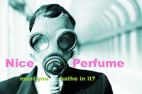 perfume gas mask
