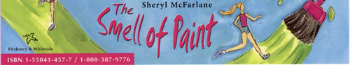 Bookmark for 'The Smell of Paint' by Sheryl McFarlane
