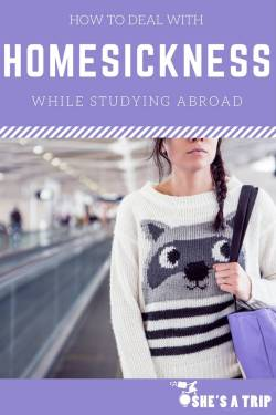 study abroad homesick tips