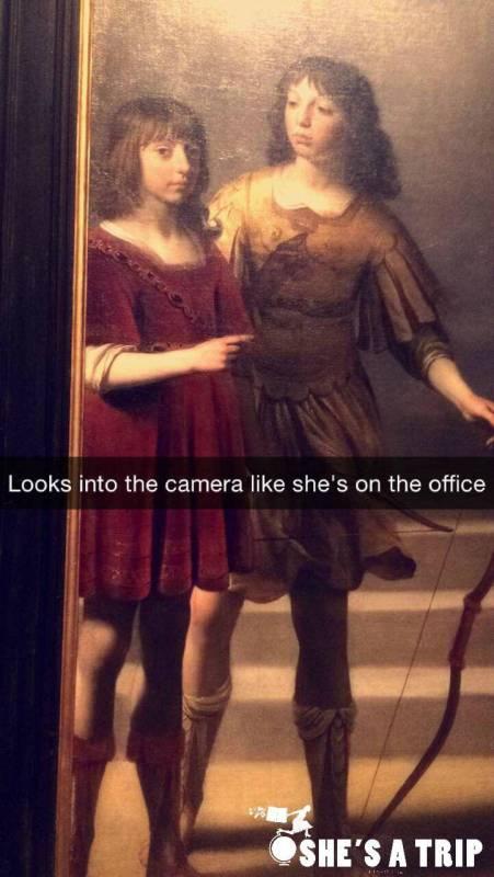 funny Snapchat captions MFA Boston Snapchats