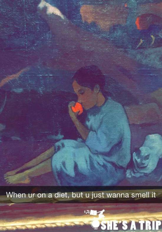 Art History Snapchats: Museum of Fine Arts Boston