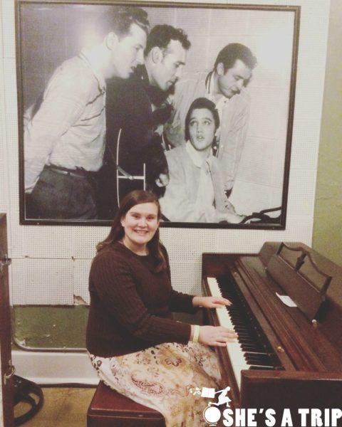 Sun Studios Piano