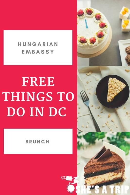 Hungarian Embassy Brunch