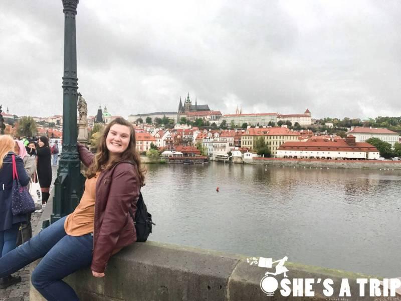 Charles Bridge Prague Crowded