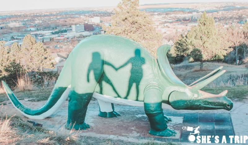 things to do in Rapid city South Dakota Dinosaur Park