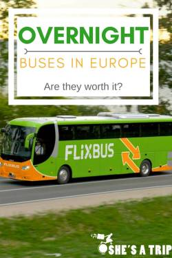 Overnight Buses in Europe: the Berlin to Amsterdam Flixbus