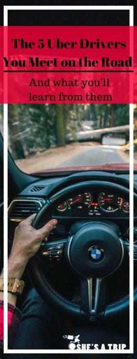 uber drivers travel