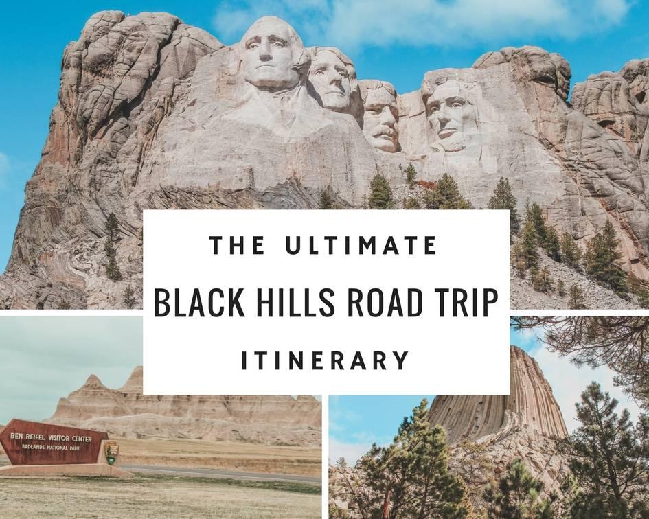MOUNT RUSHMORE VACATION BLACK HILLS ROAD TRIP