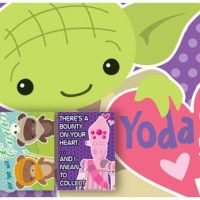 FREE Star Wars (and Minnie Mouse) Printable Valentine's Day Cards for Kids!