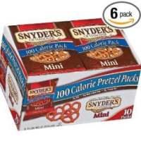 Snyder's of Hanover Mini Pretzels 100 Calorie Packs for $15.56 Shipped