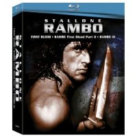 Rambo Box Set (First Blood / Rambo: First Blood Part II / Rambo III ) for $15.99 shipped