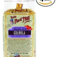 Bobs Red Mill Cinnamon Raisin Granola, 12-Ounce (Pack of 4) $11.51 Shipped…LOVE!