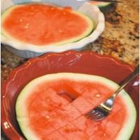 Mom Solution | Pie Plate Watermelon Dish