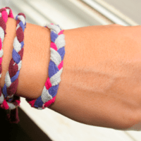 She's Creative! T-Shirt Bracelets