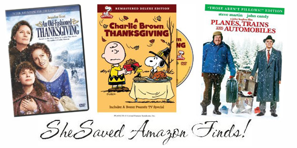 Thanksgiving DVDs