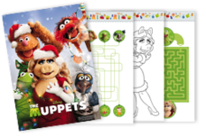 Muppets Activity Sheets
