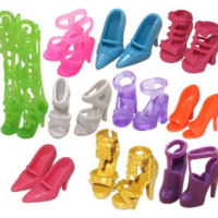 10 Pairs of Barbie Doll Shoes for $5.90 Shipped