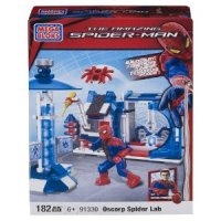 Mega Bloks Spiderman Spider Lab for $5.99 Shipped