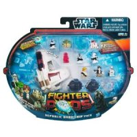 STAR WARS Fighter Pods Figure 12pk for $7.55 Shipped