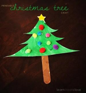 printable christmas tree