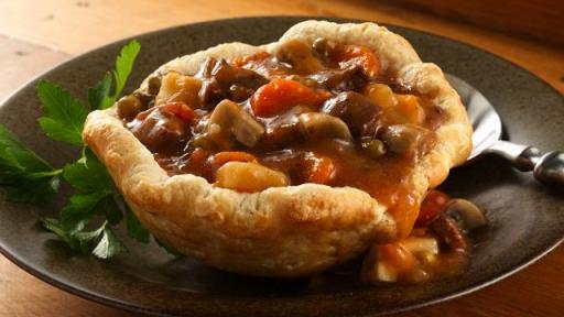Beef Stew Biscuit Cups