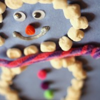 Kids Crafts   Marshmallow Snowman