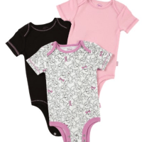Minnie Mouse Onesies 3 Pack for $5.35 Shipped