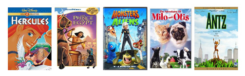 Childrens Movie Deals